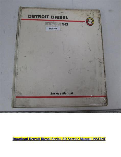 Detroit Diesel Service Manual (ePUB/PDF)