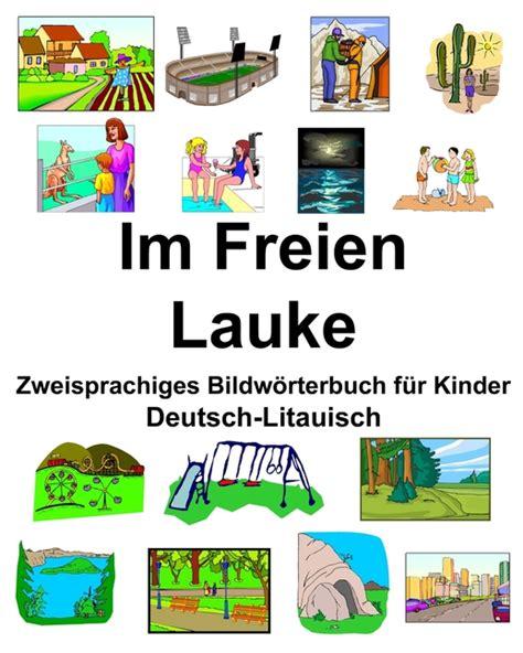 Deutsch Litauisch Zweisprachiges Bilderworterbuch Der Farben Fur ...