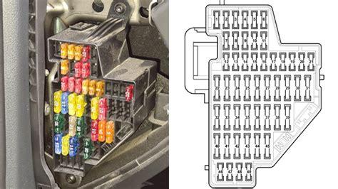 diagram of fuse box for 2009 impala