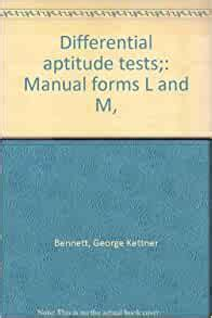 Differential Aptitude Tests Manual (ePUB/PDF)