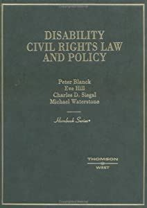 Disability Civil Rights Law And Policy Hornbooks