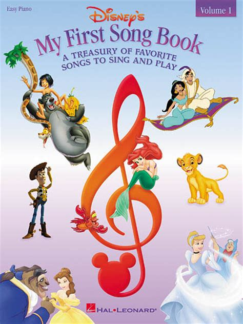 Disneys My First Songbook A Treasury Of Favorite Songs To Sing And Play Easy Piano 5