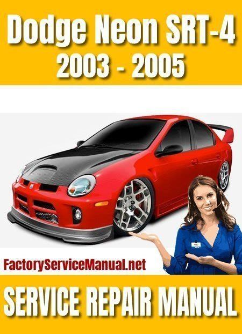 Dodge Neon Service Repair Manual 1997 1999 (ePUB/PDF)