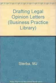 Drafting Legal Opinion Letters 1995 Cumulative Supplement Business Practice Library