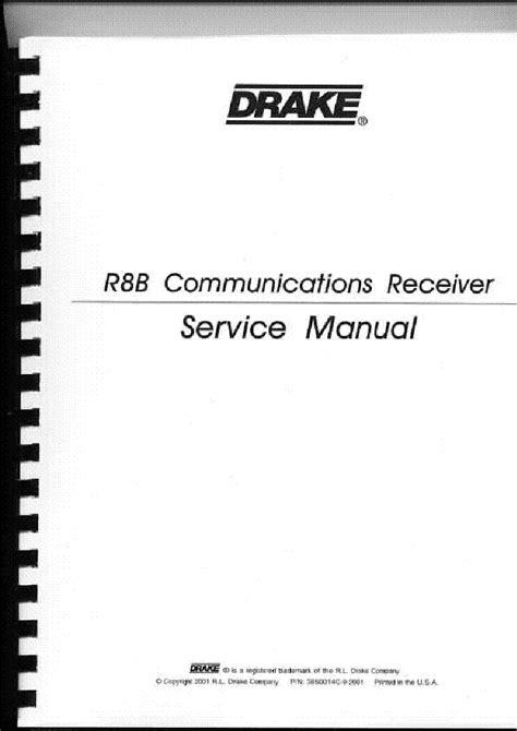 Drake R8b Manual (ePUB/PDF) Free