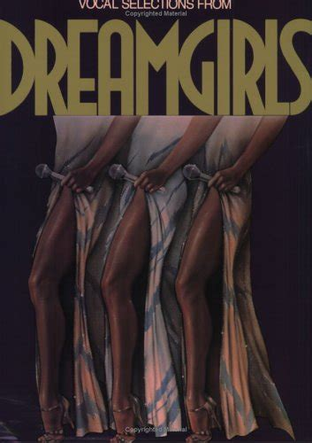 Dreamgirls Vocal Selections Piano Vocal Chords