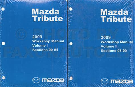 Driving Manual For Mazda Tribute ePUB/PDF