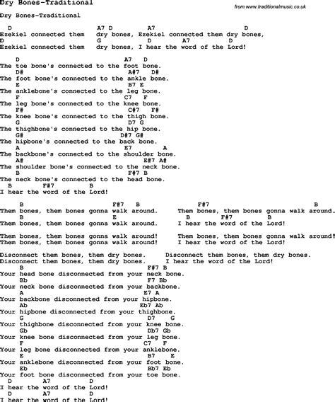 Dry Bones Chord Chart (ePUB/PDF) Free