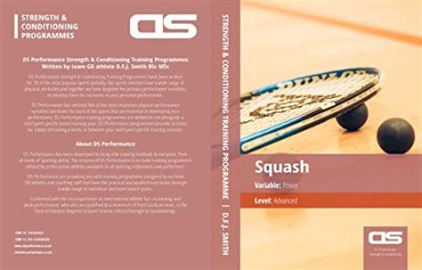 Ds Performance Strength Conditioning Training Program For Squash Stability Advanced English Edition