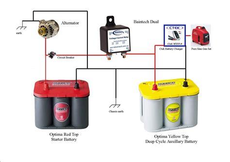 powertech dual battery isolator wiring diagram images dual battery isolator wiring diagram