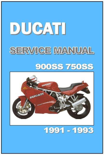 Ducati 900ss Workshop Repair Manual All 2001 Onwards Models Covered