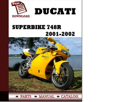 Ducati Superbike 748r Parts Manual Catalogue 2001 2002 Pdf English ...