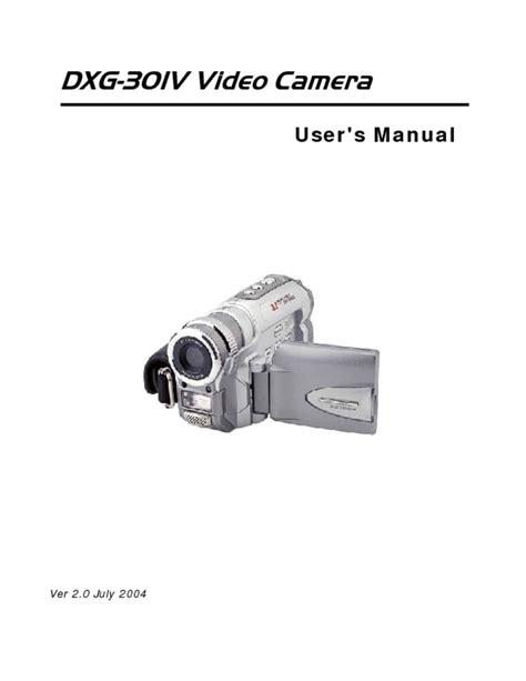 Dxg Camera Manual (ePUB/PDF) Free
