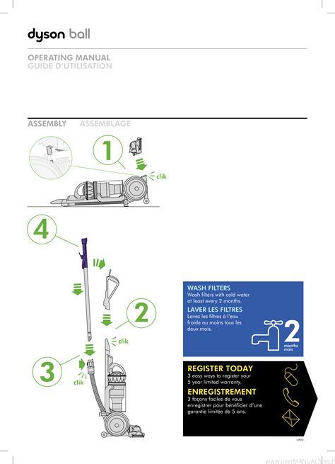 Dyson Ball Repair Manual (ePUB/PDF) Free