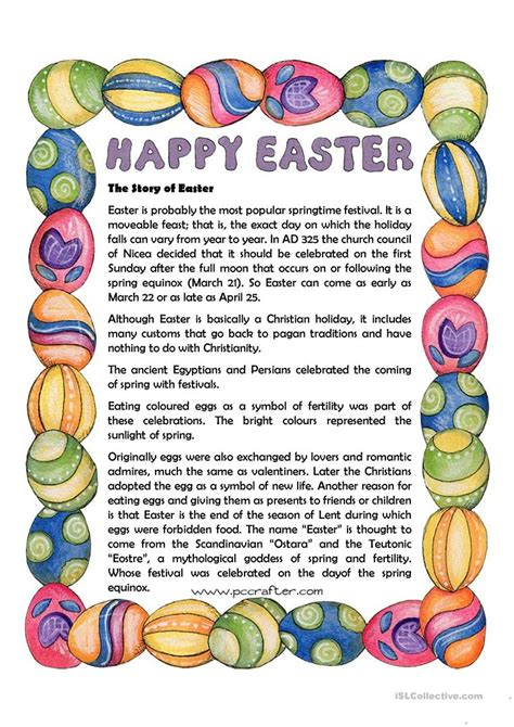 Easter Bunny Easter Story and Activities for Kids Story