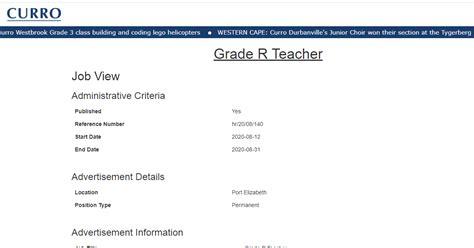 Eastern Cape Grade R Salary (ePUB/PDF) Free