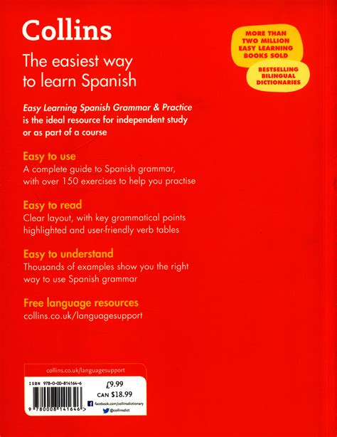 Easy Learning Spanish Grammar And Practice Collins Easy Learning Spanish