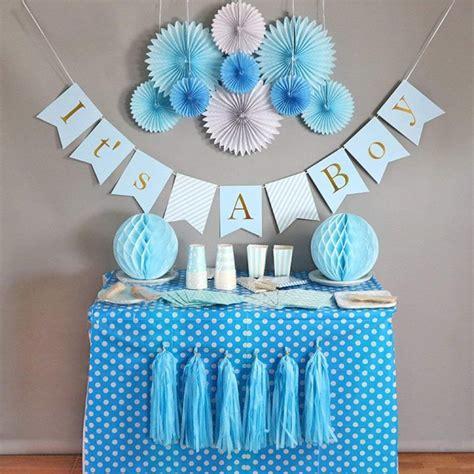 Easy Budget Friendly Baby Shower Ideas For Boys Tulamama