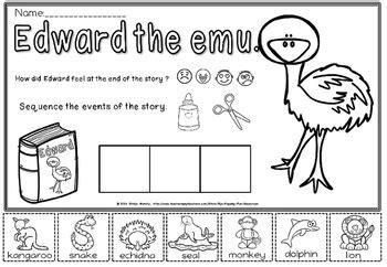 Edward The Emu Printable (ePUB/PDF) Free