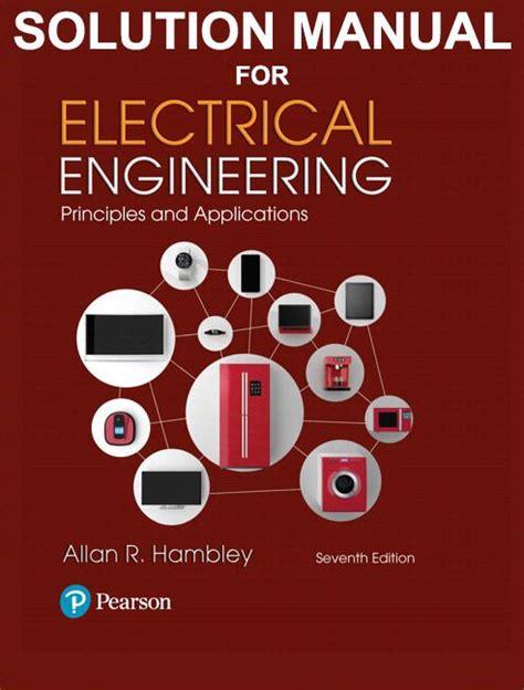 Electrical Engineering Hambley Solution Manual (ePUB/PDF)