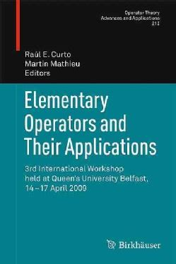 Elementary Operators And Their Applications Mathieu Martin Curto ...