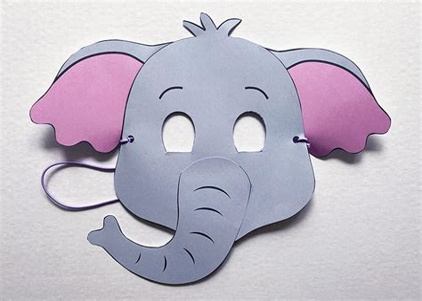 Elephant Mask Templates (ePUB/PDF) Free