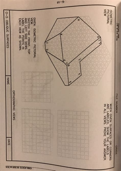Engineering Graphics Text And Workbook Series 12
