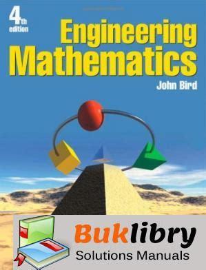 Engineering Mathematics John Bird Solution Manual (ePUB/PDF)