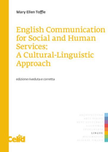 English Communication For Social And Human Services A Culturallinguistic Approach