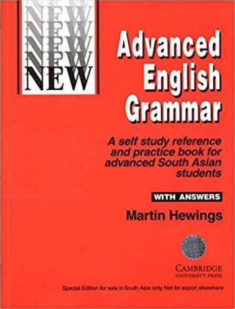 English Grammar Workbook For Advanced Students Of English English Edition