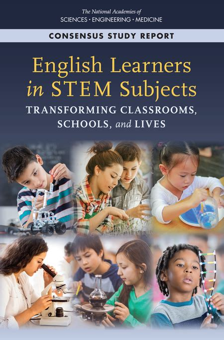 English Learners In Stem Subjects Transforming Classrooms Schools And Lives