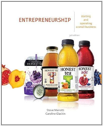 Entrepreneurship Starting And Operating A Small Business 3rd Edition