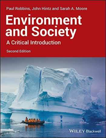 Environment And Society A Critical Introduction