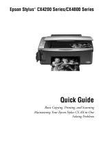 Epson Stylus Cx4200 User Manual (ePUB/PDF)