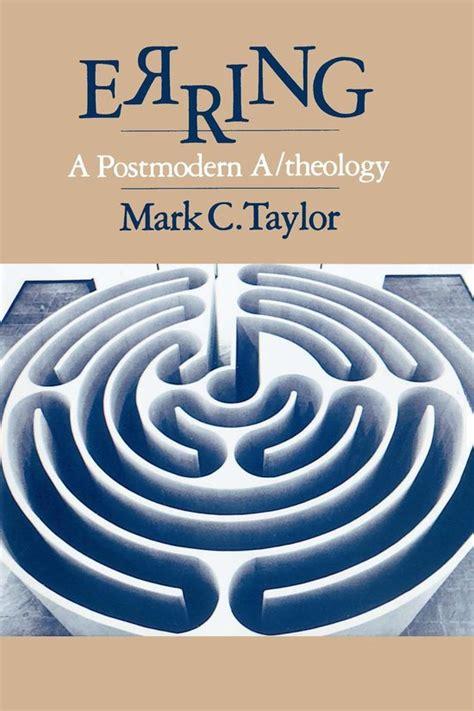 Erring Taylor Mark C (PDF/ePUB) on