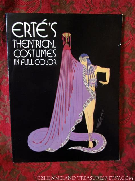 Ertes Theatrical Costumes In Full Color