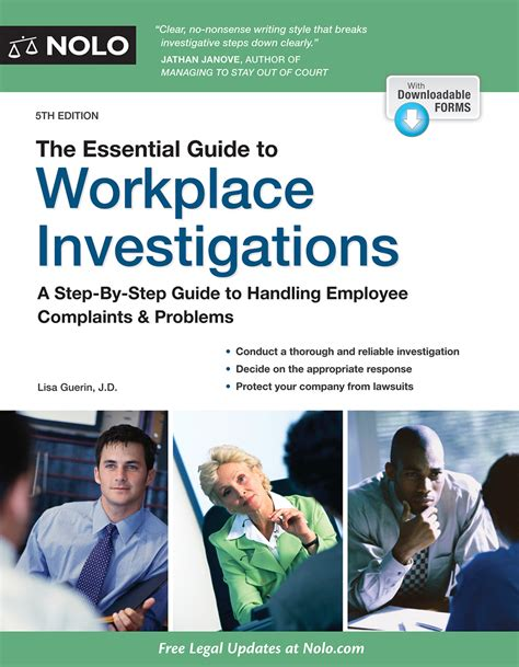 Essential Guide To Workplace Investigations The A StepByStep Guide To Handling Employee Complaints Problems