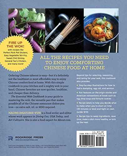Essential Wok Cookbook A Simple Chinese Cookbook For StirFry Dim Sum And Other Restaurant Favorites