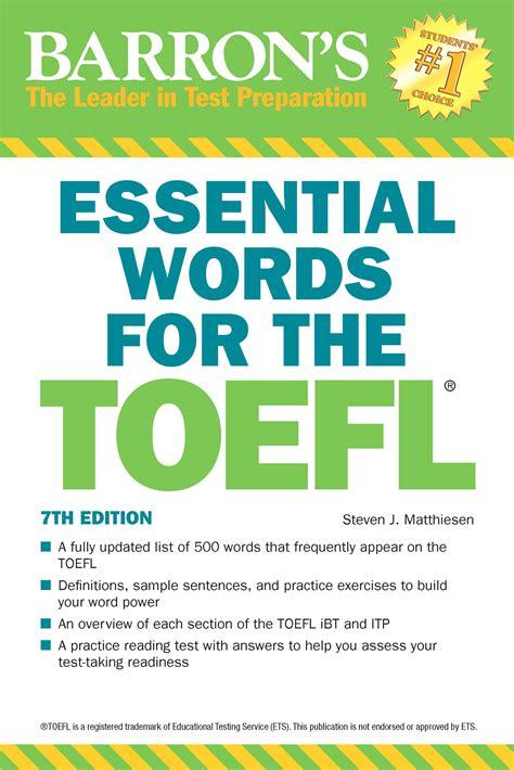 Essential Words For The Toefl 7th Edition (ePUB/PDF)