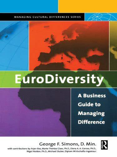 Eurodiversity Simons George F (ePUB/PDF)