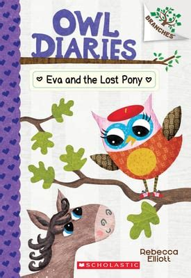 Eva And The Lost Pony A Branches Book Owl Diaries 8