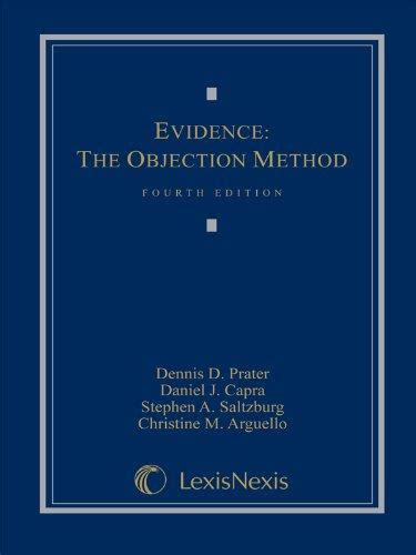 Evidence The Objection Method Fifth Edition