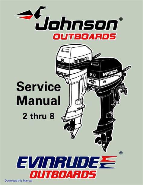 Evinrude Outboard Manuals (ePUB/PDF)