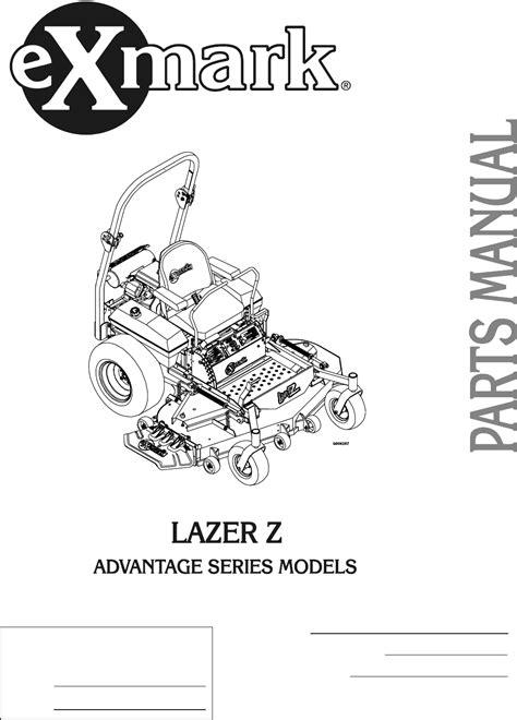 Exmark Troubleshooting Manual (ePUB/PDF)