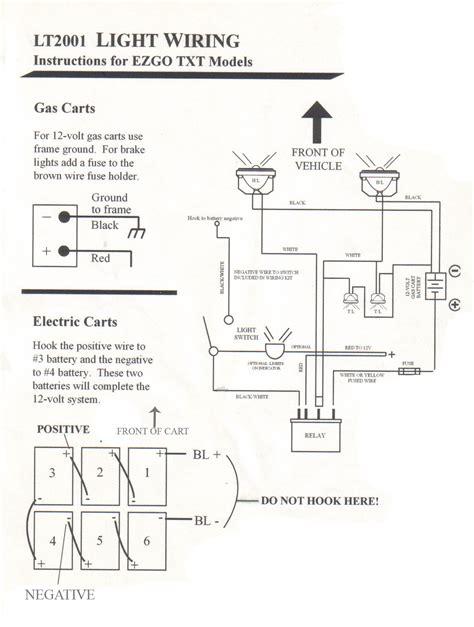 ezgo light kit wiring diagram (epub/pdf) on