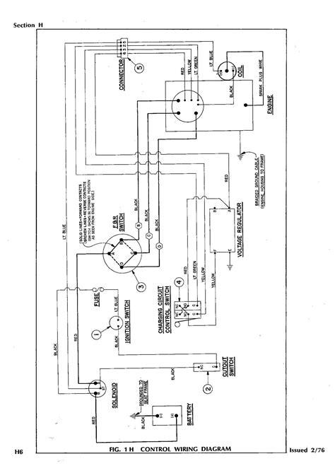 ezgo wiring harness diagram