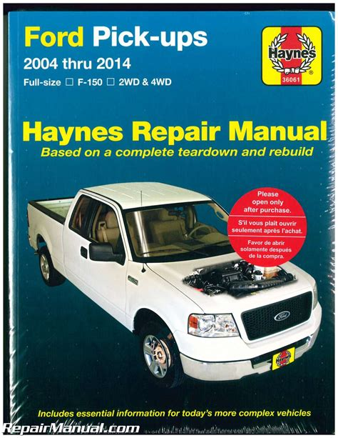 F 150 Truck Repair Manual 2005 (Free ePUB/PDF)