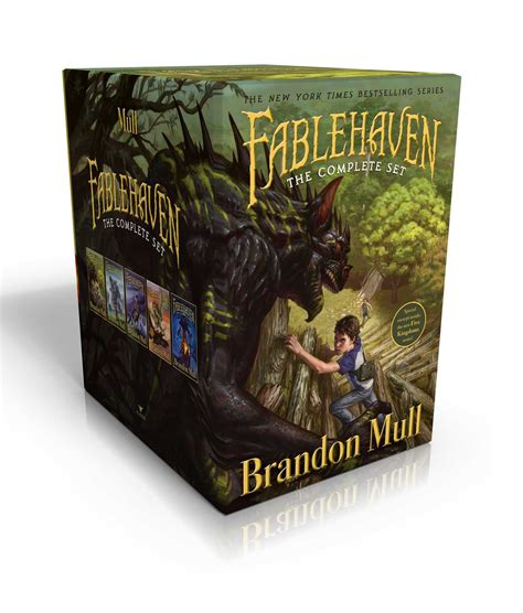 Fablehaven Complete Set Boxed Set Fablehaven Rise Of The Evening Star Grip Of The Shadow Plague Secrets Of The Dragon Sanctuary Keys To The Demon Prison