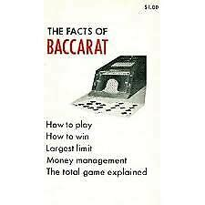Facts Of Baccarat By Walter I Nolan 19760103