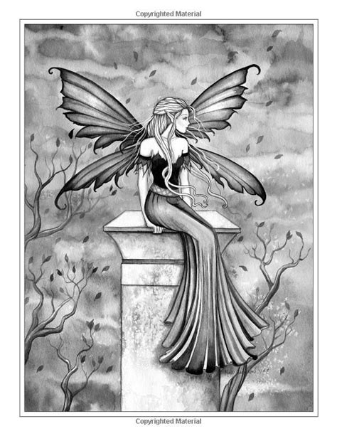 Fairies And Mermaids A Grayscale Coloring Book